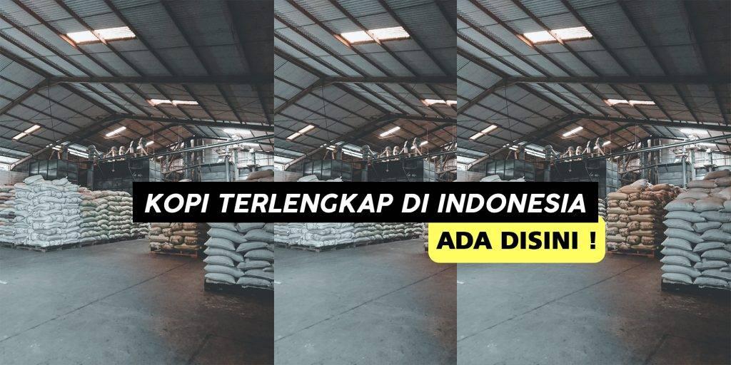 Jual Kopi Terlengkap di Indonesia