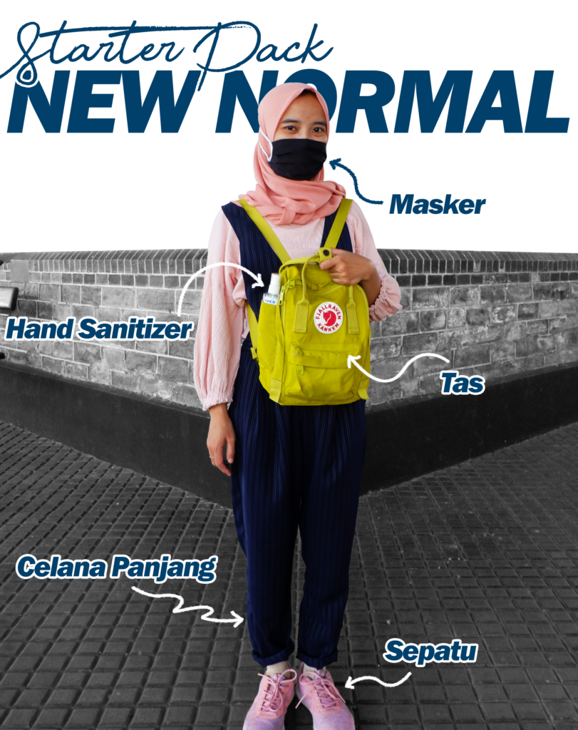 Starter Pack New Normal Untuk Liburan badrulmozila
