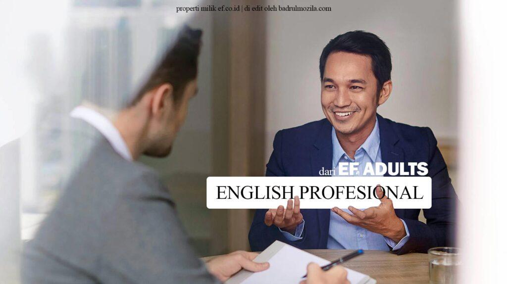 English Profesional dari EF Adults