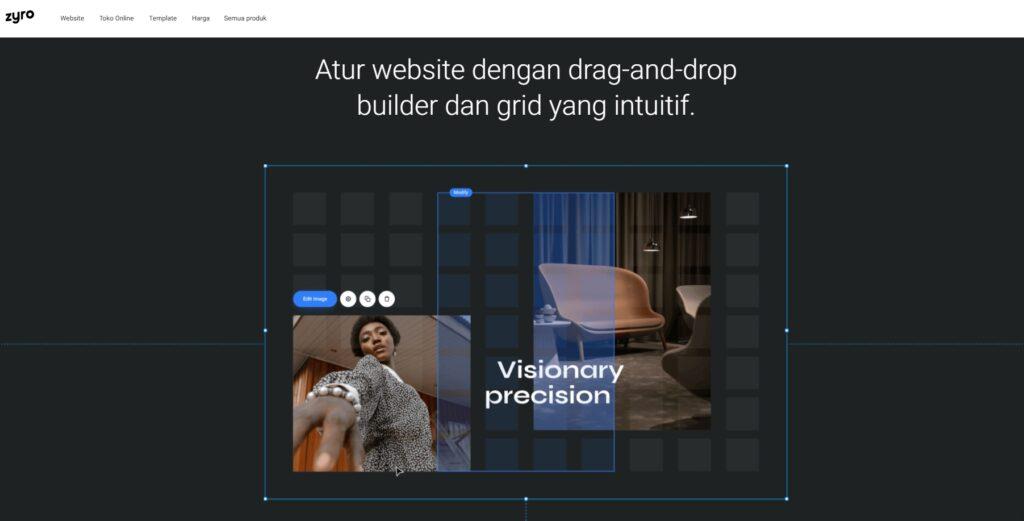 Membuat Website Makin Mudah Dengan Zyro Website Builder