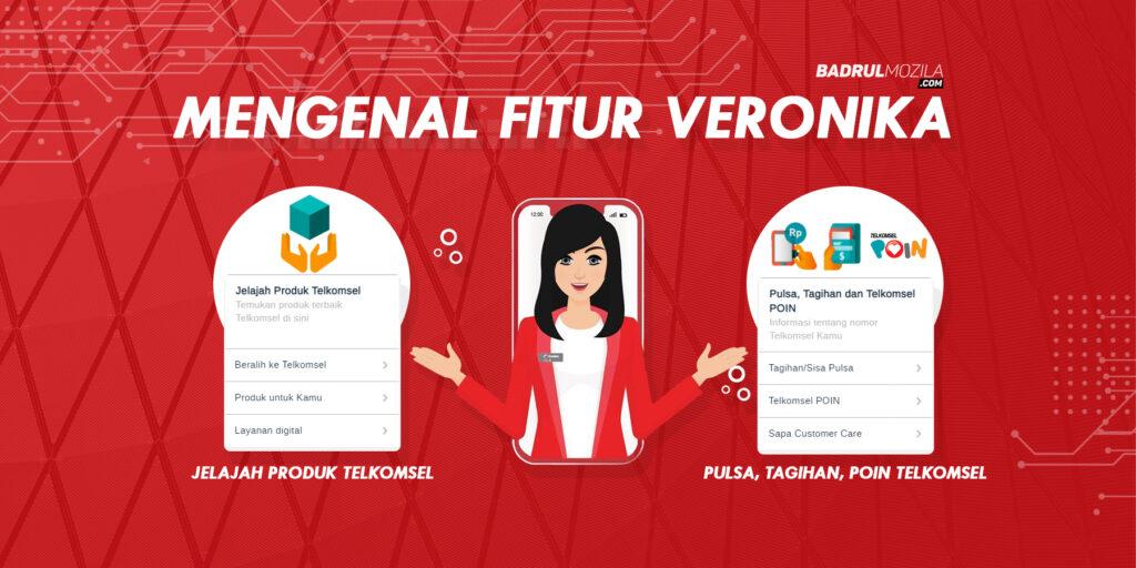 Fitur Tanya Veronika Arficial Intelligence Telkomsel