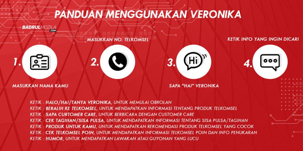 Panduan Menggunakan Asisten Virtual Telkomsel Veronika