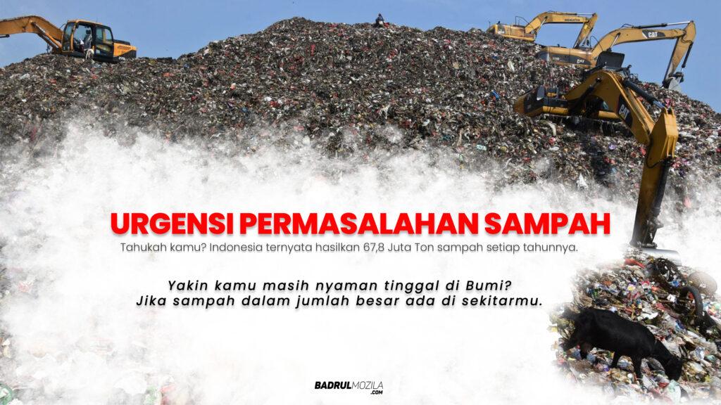 Urgensi Permasalahan Sampah